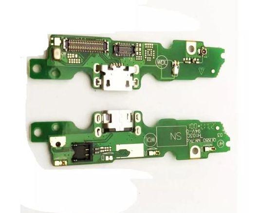 Conector De Carga Com Microfone Moto G5 Xt1672 Xt1676 Placa