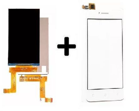 Combo Frontal Display Galaxy Lenovo Vibe B A2016b30 a2016b30 Branco