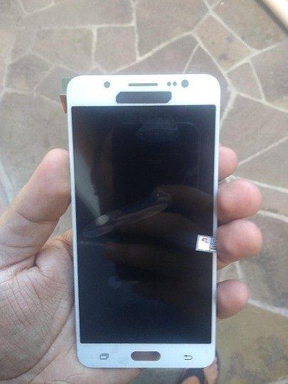 Combo Frontal Display Touch Galaxy J5 2016 J5 Metal J510 Branco