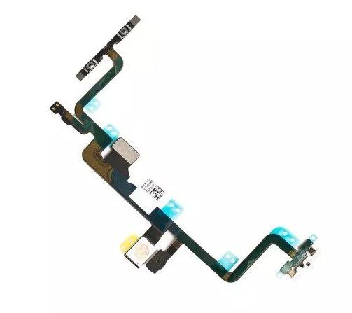 Cabo Flex Flat Botão On Off Volume Power iPhone 7 Plus