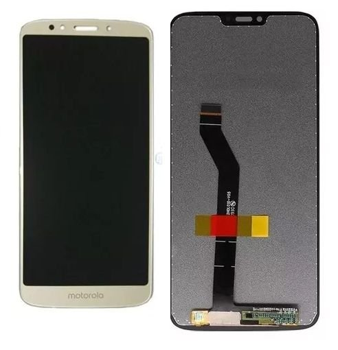 Combo Frontal Display Touch Moto E5 Play xt1920 Dourado