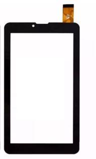 Tela Touch Vidro Tablet Dl Social Phone 710 Tx316 Tx320 Lt-641 Preto