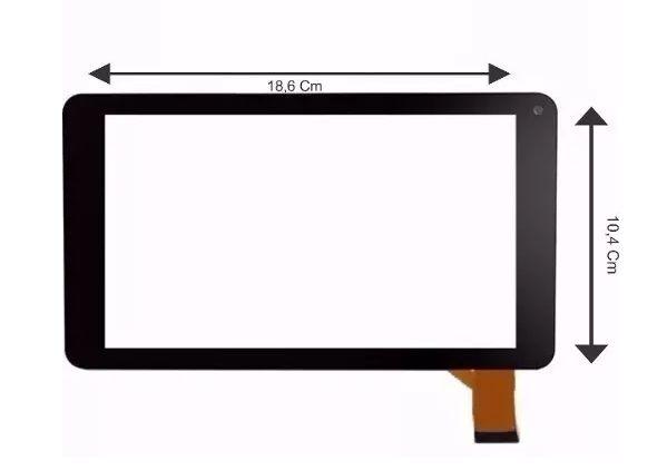 Tela Touch Vidro Tablet Tp266bra Tp266