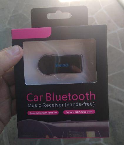 Adaptador Bluetooth som do carro