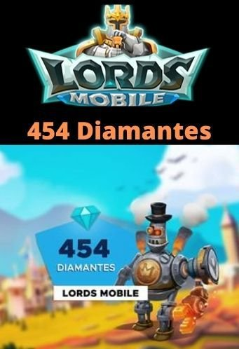 Lords Mobile 454 Diamantes - Android