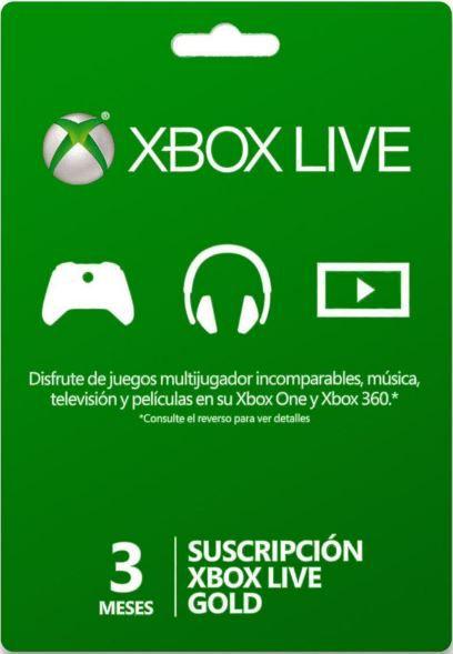 Cartão Xbox Live 3 Meses - Assinatura Xbox Live Gold