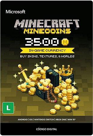 Minecraft 3500 Minecoins