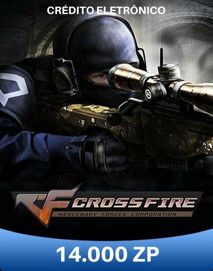 CrossFire ZP - Cartão de 14.000 ZP Cash