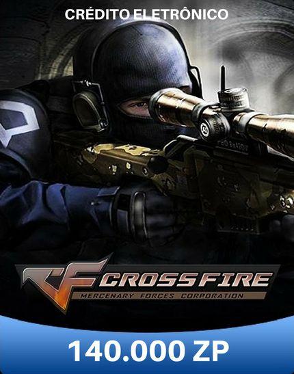 CrossFire ZP - Cartão de 140.000 ZP Cash