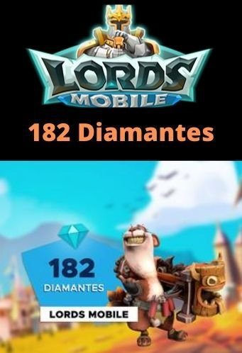 Lords Mobile 182 Diamantes - Android