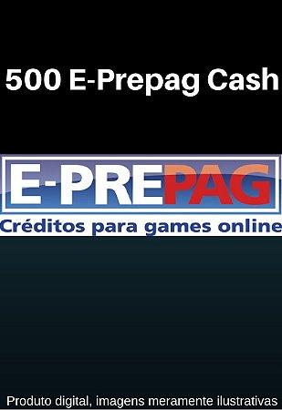 E-Prepag Card - 500 E-Prepag Cash
