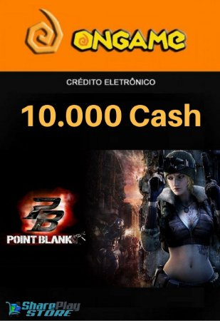 Cartão Point Blank PB 10.000 Cash - PB 10k Point Blank Ongame