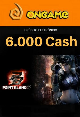 Point Blank PB 6.000 Cash - PB 6k Point Blank Ongame