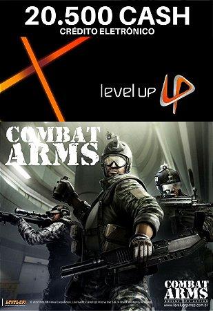 Combat Arms 20.500 Cash - Level Up Cartão Pré Pago