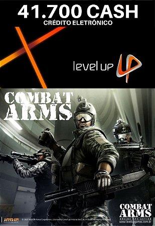 Combat Arms 41.700 Cash - Level Up Cartão Pré Pago
