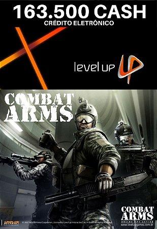 Combat Arms 163.500 Cash - Level Up Cartão Pré Pago