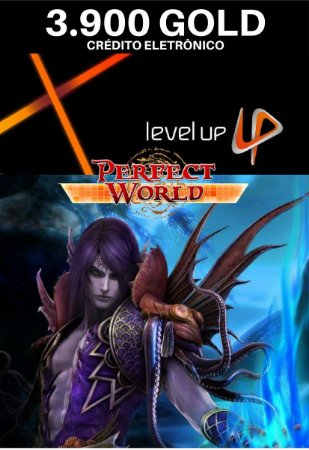 Perfect World 3.900 Gold - Level Up Cartão Pré Pago