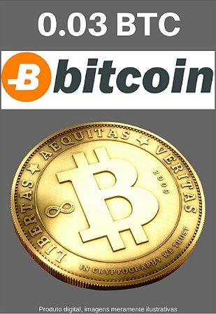 Bitcoin 0.03 BTC