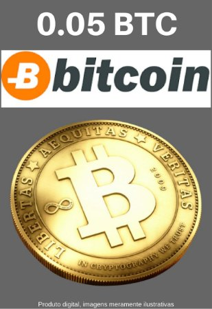 Bitcoin 0.05 BTC