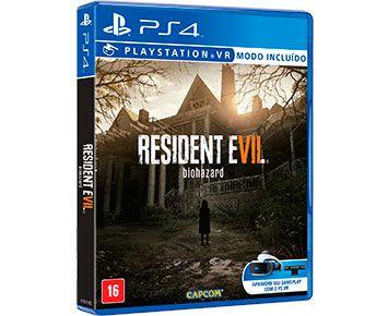 Jogo Resident Evil 7 Para PS4