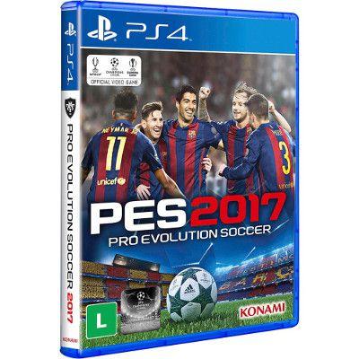 Jogo PES 17 Para PS4
