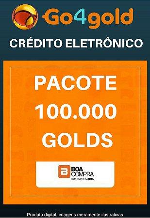 Crédito Go4Gold Boa Compra 100.000 Créditos Gold