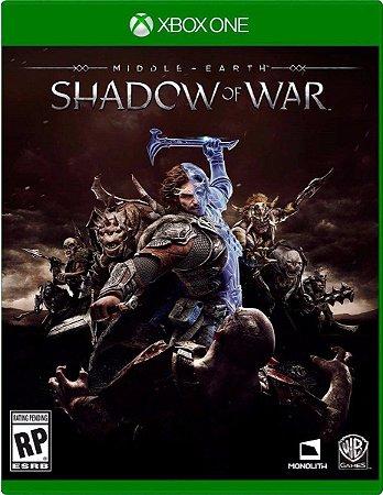 Game Terra-média: Sombras da Guerra - Xbox One