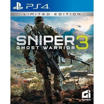Jogo Sniper Ghost Warrior 3 Edição Limitada - PS4