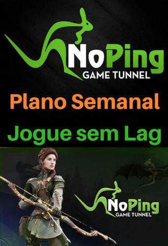 Cartão Noping Game Tunnel - Plano Semanal (7 dias)
