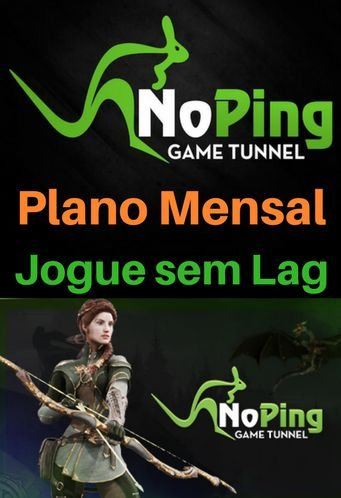 Cartão Noping Game Tunnel - Plano Mensal