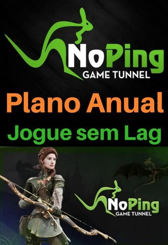 Cartão Noping Game Tunnel - Plano Anual