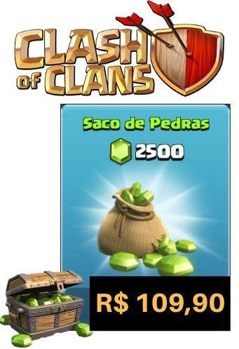 Gemas Clash Of Clans 2500 Gemas - Cartão Google Play Store