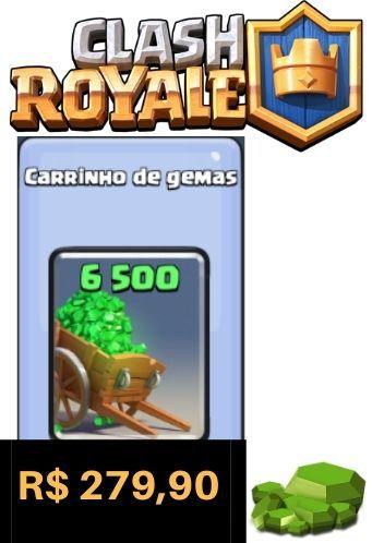 Cartão Clash Royale 6500 Gemas - Google Play Brasil