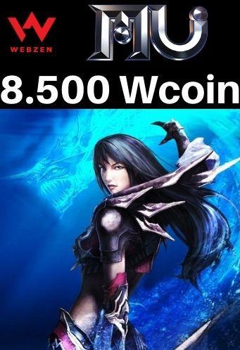 MU Online Pacote de 8.500 Wcoin - MU Online Webzen