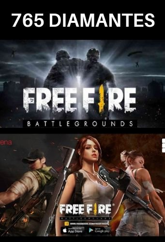 Garena Free Fire - 765 diamantes