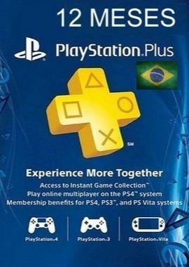 Assinatura PSN Brasil 12 Meses Cartão de Ativação PSN Plus Br