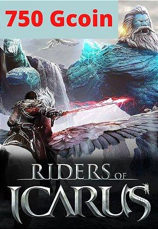 Cartão Riders of Icarus 750 Gcoin - Valofe
