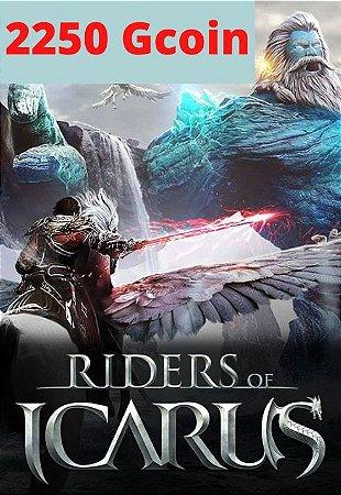 Cartão Riders of Icarus 2250 Gcoin - Valofe