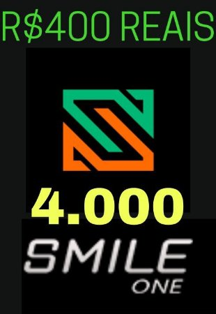 Moeda Smile One Coins R$400 Reais - 4000 Smile One