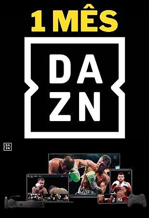 DAZN 1 Mês - Streaming Smart TV Online de Esportes ao Vivo