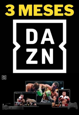DAZN 3 Meses - Streaming Smart TV Online de Esportes ao Vivo