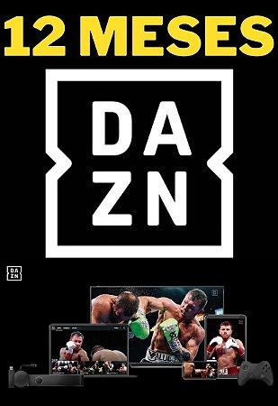 DAZN 12 Meses - Streaming Smart TV Online de Esportes ao Vivo