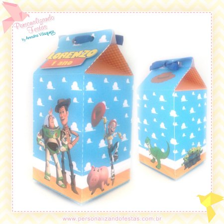 Caixa Milk Toy Story