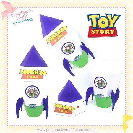 Caixa Foguete Buzz Lightyear