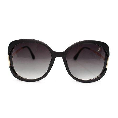 Óculos de Sol MustBe Claus e Vanessa 2019 Black & Gold