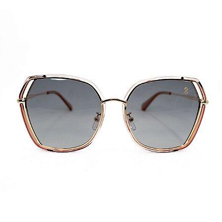 Óculos de Sol MustBe Hexxa Rosé Med