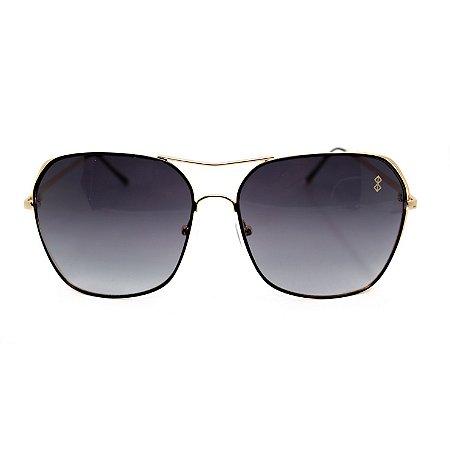 Óculos de Sol MustBe Angle Gold&Black Slim