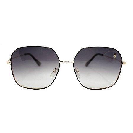 Óculos de Sol MustBe EZ Gold&Gray Slim