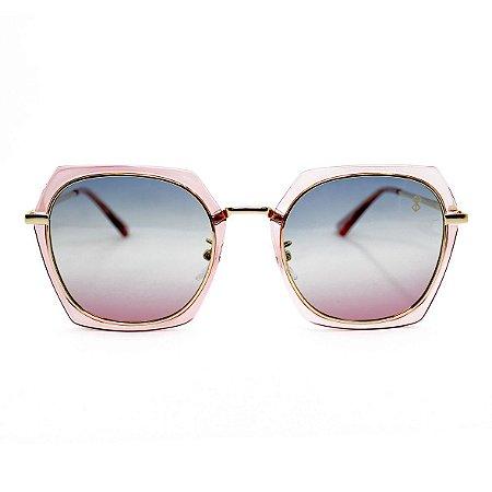 Óculos de Sol MustBe Hexxa Glossy Pink