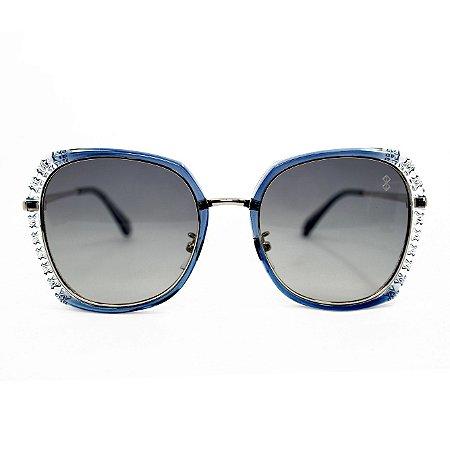 Óculos de Sol MustBe Hexxa Glossy Blue Fractal